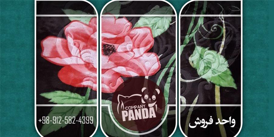 صادرات پتوی نرمینه تک رنگ گل برجسته قیمت مناسب